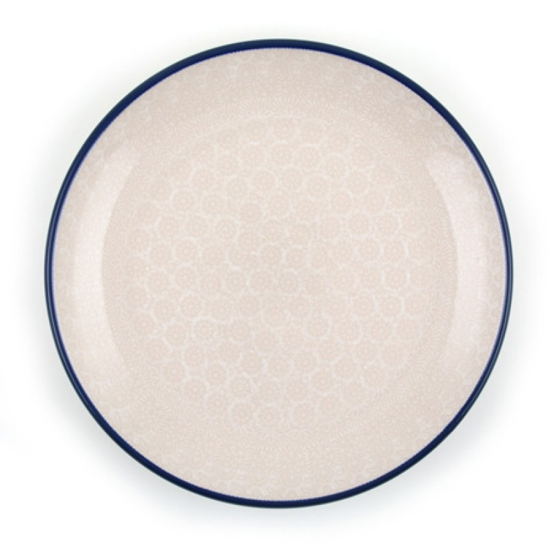 Diner bord Lace White
