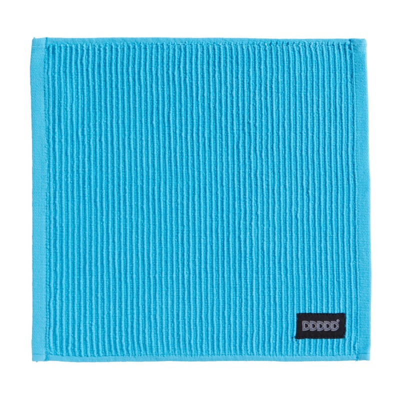 4 Stuks Vaatdoek Basic Clean Bright Blue