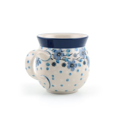 Farmer mug Blue White Love