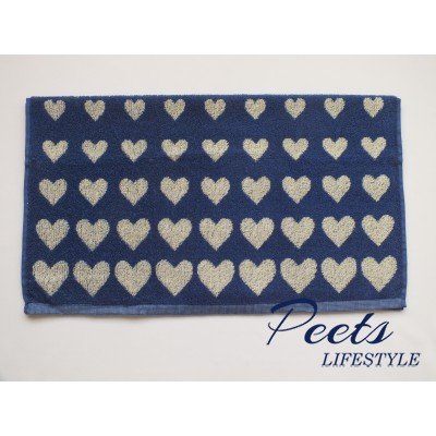 Handdoek Hearts Royal Blue