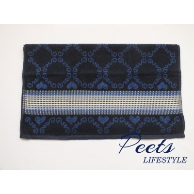 Handdoek Lace Dark Blue