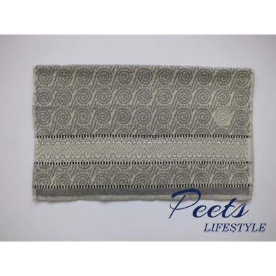 Handdoek Wave Grey