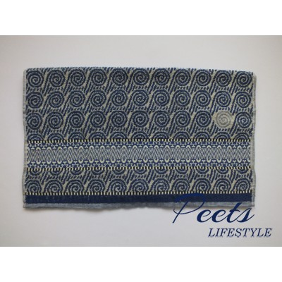 Handdoek Wave Royal Blue