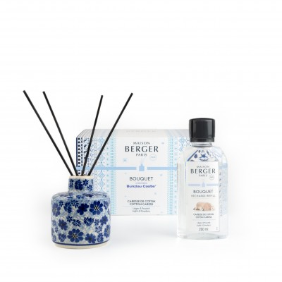 Maison Berger Perfume Dissuser set Cotton Caress+Dragonfly