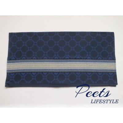 Theedoek Lace Dark Blue