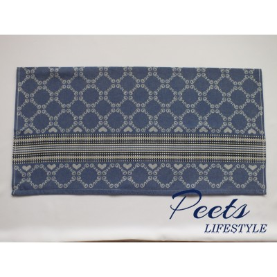 Theedoek Lace Royal Blue
