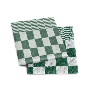 Set Handdoek + Theedoek barbeque Green